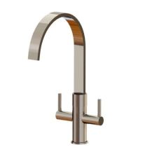 Single Hole Dual Handle Lavatory Faucet