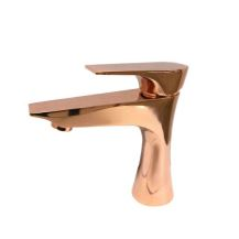 Single Hole Single Control Lavatory Faucet-Rose Gold